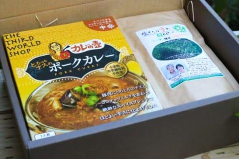 熊本応援 レトルトカレー&ひのひかりお米ギフト セット