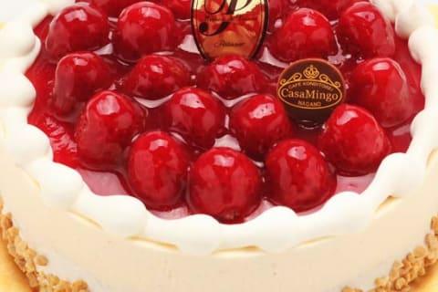 最高級洋菓子シュス木苺レアチーズケーキ