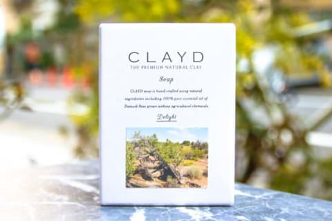 CLAYDSOAP -Damaskrose-