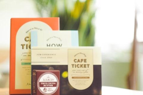 カフェチケット 全国版 & cocoa handcream