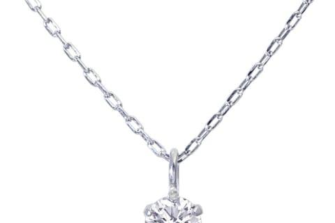 【LARA Christie】プラチナ ダイヤモンドネックレス