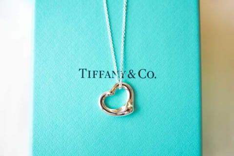 【Tiffany & Co.】オープン ハート ペンダント