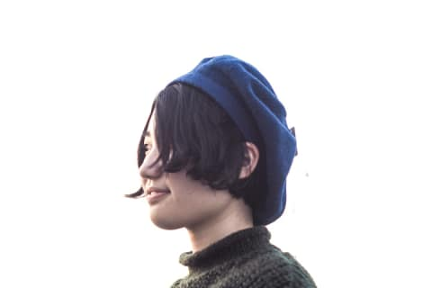 【NAMIKI】シンプルウールベレー 83-609