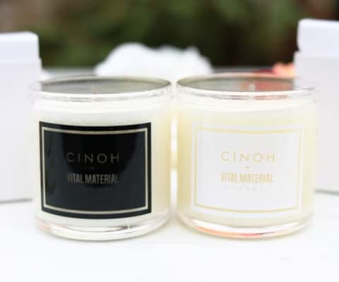 SOY  WAX CANDLE SET(CINOHコラボ) ソイワックスキャンドルセット