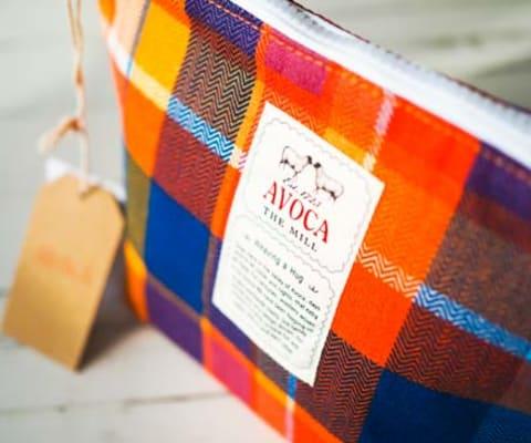Lunch Clutch Bag Maple
