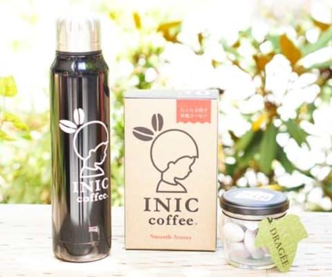 たった5秒で本格コーヒー◎「INICコーヒー&タンブラーセット」