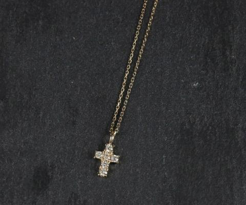 K10 Cross Motif Necklace