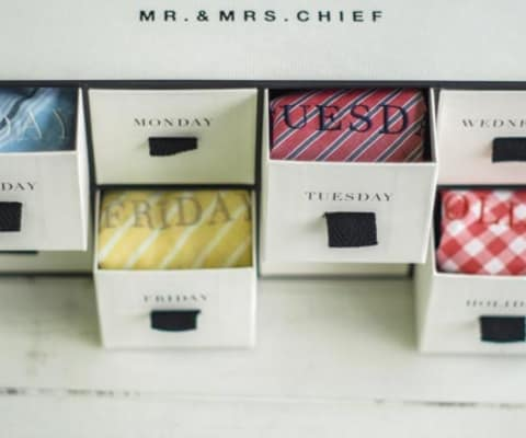 【MR.&MRS CHIEF】WEEK! ハンカチ 8枚セット