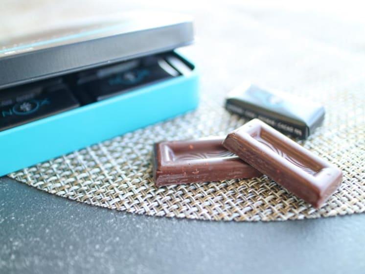 お取り寄せ(楽天) NOXオーガニック プレミアムオーガニックチョコレート 12粒  価格1,944円 (税込)
