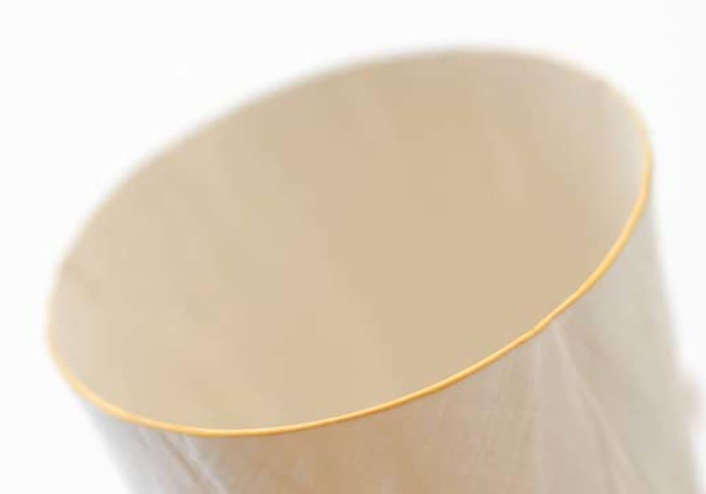 ceramic mimic fabric ロックグラス