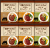 松坂牛・近江牛・飛騨牛仕込み 食べくらべハンバーグ詰合せ 6つ入り