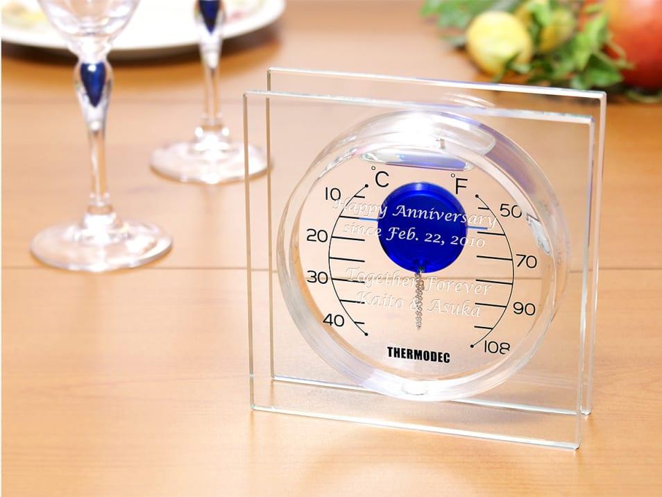 【名入れギフト】ガリレオ温度計 フロート S