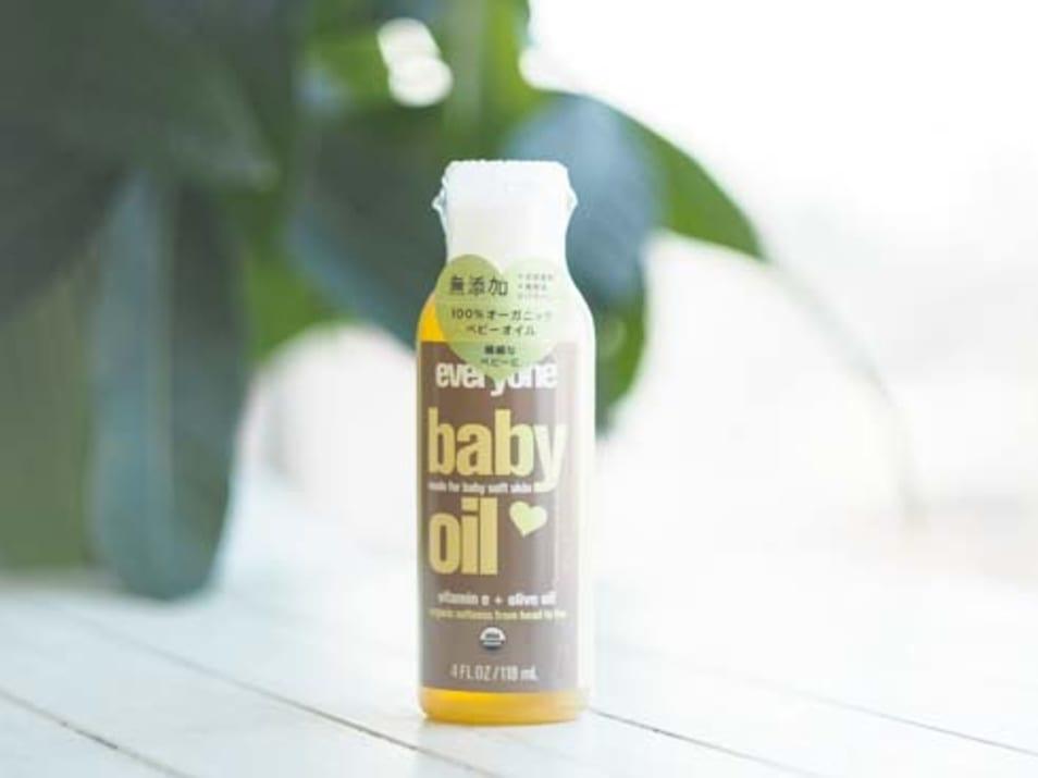 オーガニックなオイルで赤ちゃんを癒すベビー用マッサージオイル