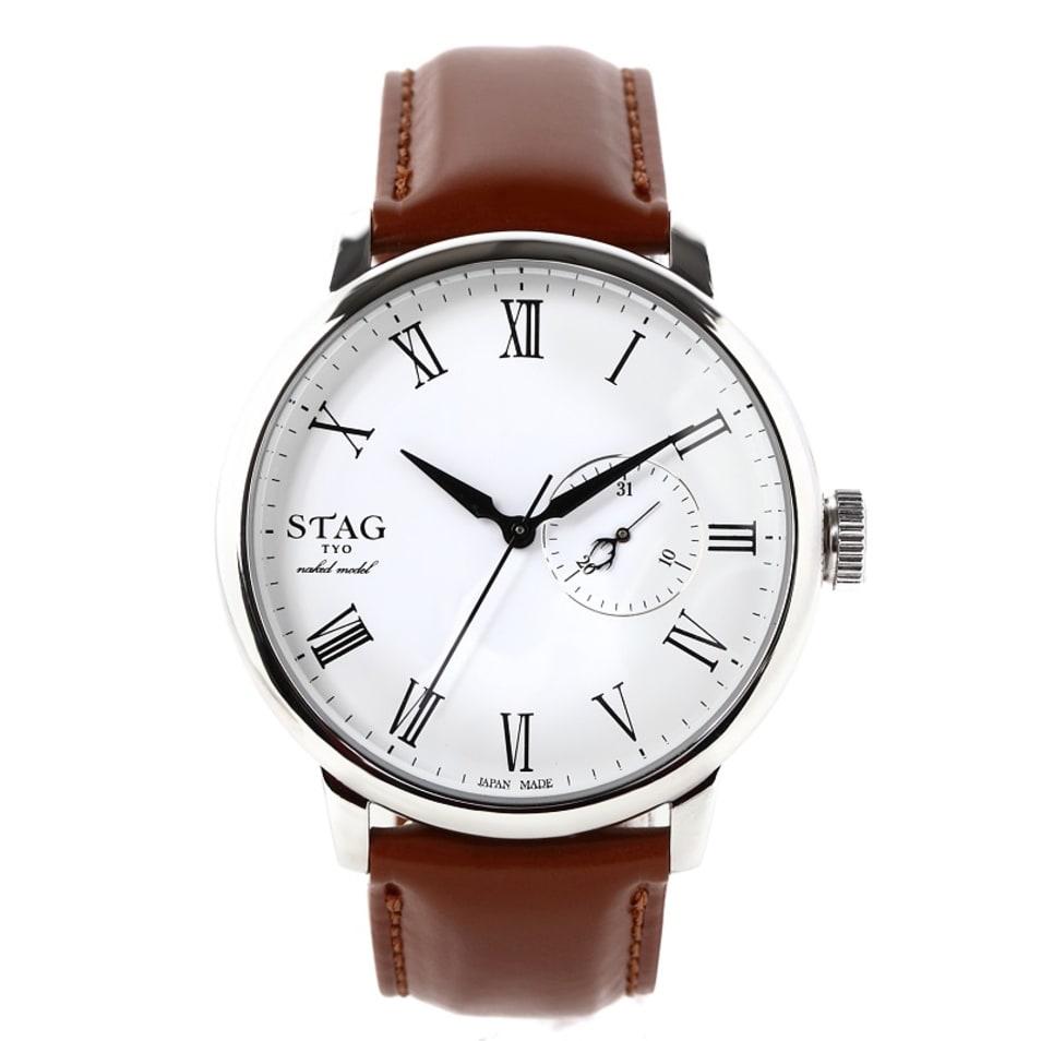カレンダー機能付きチェンジャブル時計-STG020