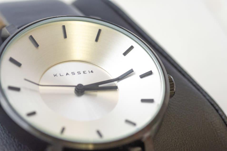 【KLASSE14】Volare VO14BK001W BLACK/SILVER 36mm