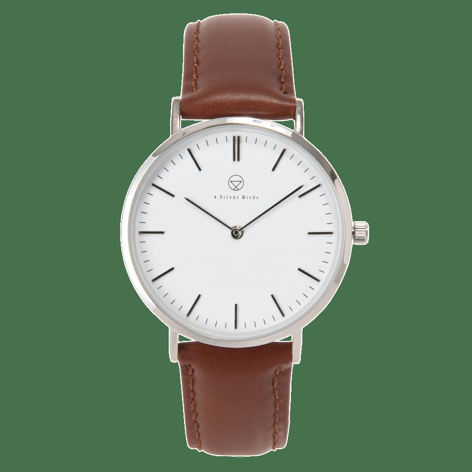 時計-PATAGONA 36MM LEATHER BURNT UMBER