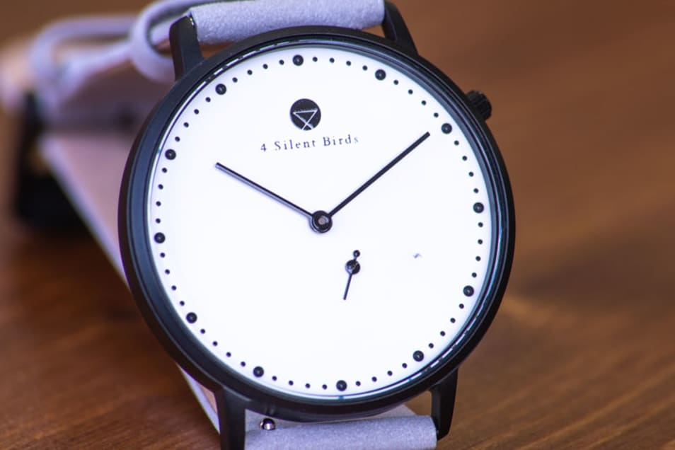 【4silentbirds】EIGHT HOOTER 36MM NUBACK DRIZZLE