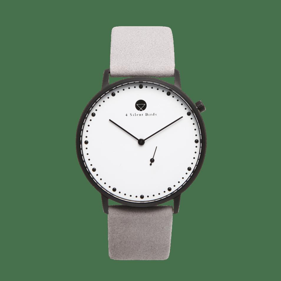 時計-EIGHT HOOTER 36MM NUBACK DRIZZLE