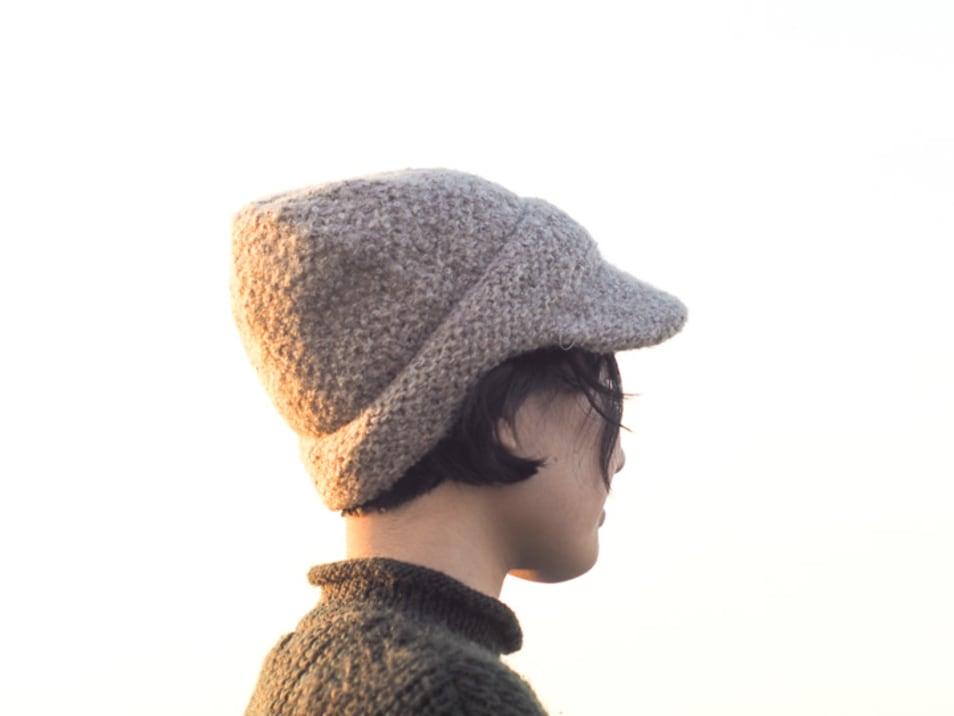 【NAMIKI】ループニットキャスケット 83-606