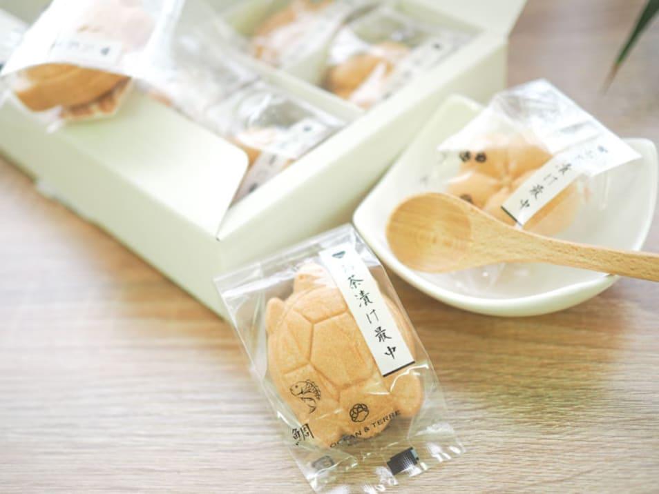 【オリジナルあい】お茶漬け最中セットB A030