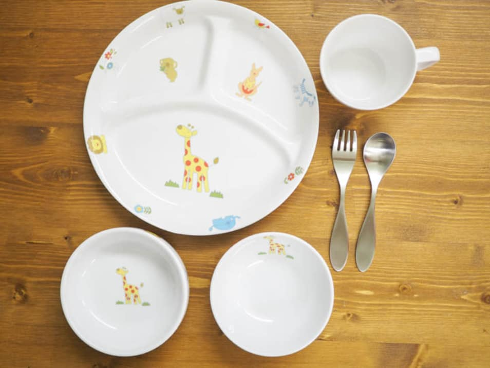 オリジナル食器&スプーンフォークセット