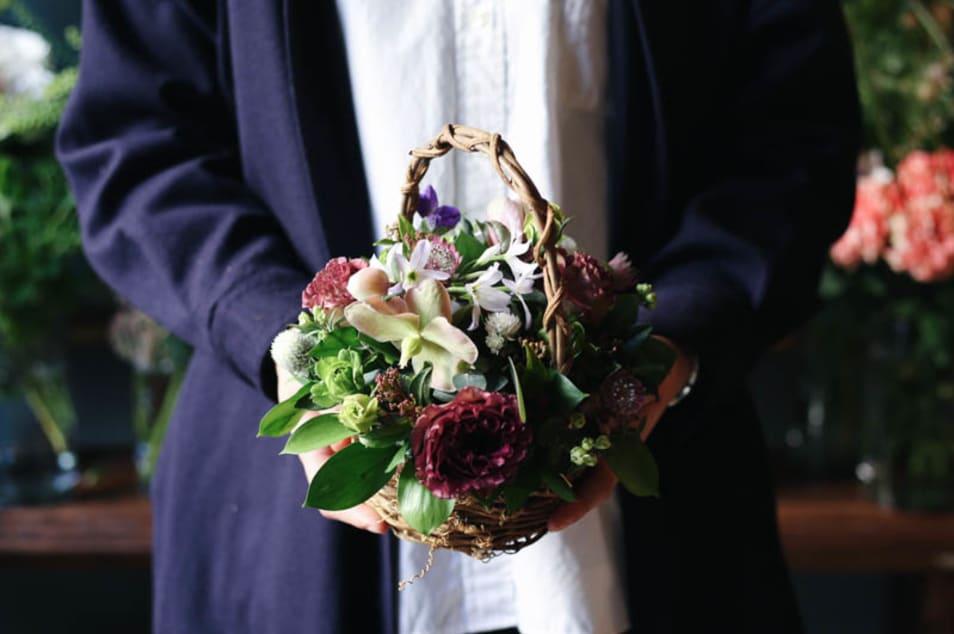 【ex. flower shop & laboratory】季節のアレンジメント - S -
