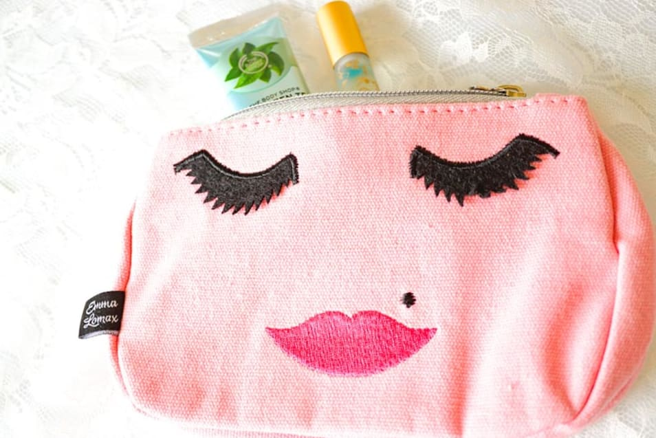 【Emma Lomax】pink face makeup bag