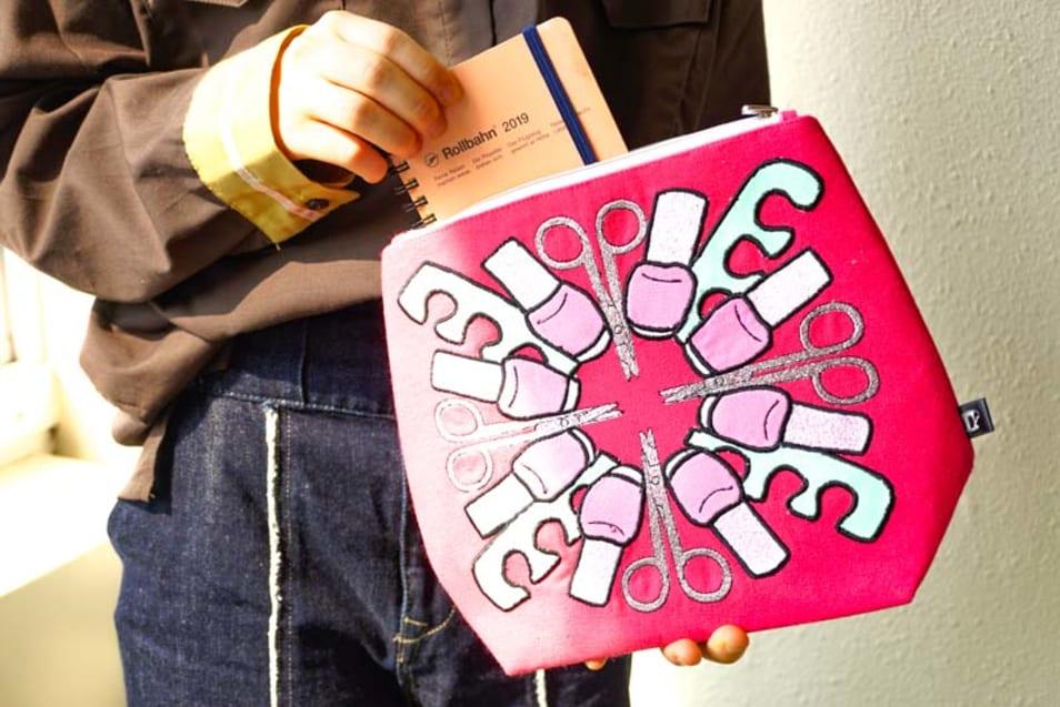 【Emma Lomax】manicure mania bag hot pink