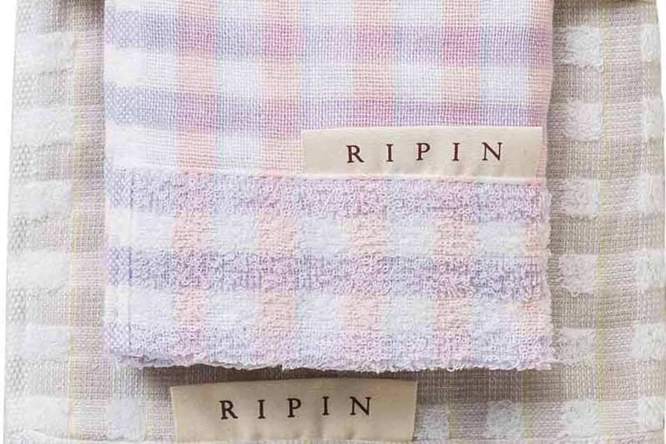 【RIPIN】バスタオル2P・フェイスタオル・ウォッシュタオル3P