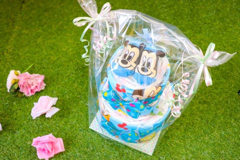 ディズニーミッキーマウスおむつケーキ