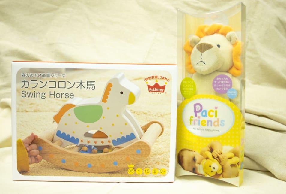 【TANP限定出産祝い】初めてのおもちゃセット
