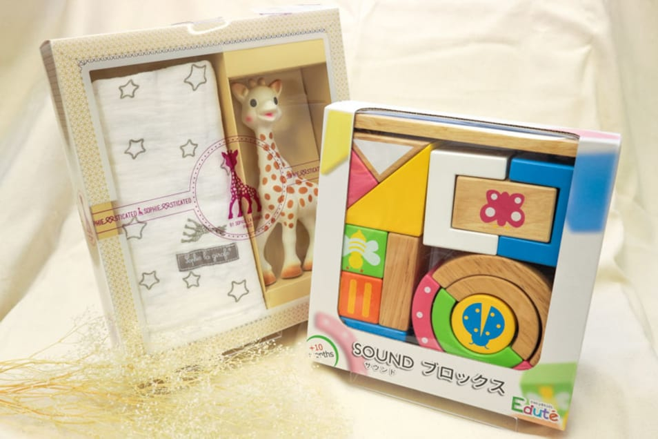 【TANP限定出産祝い】想像力を育てよう!おもちゃセット