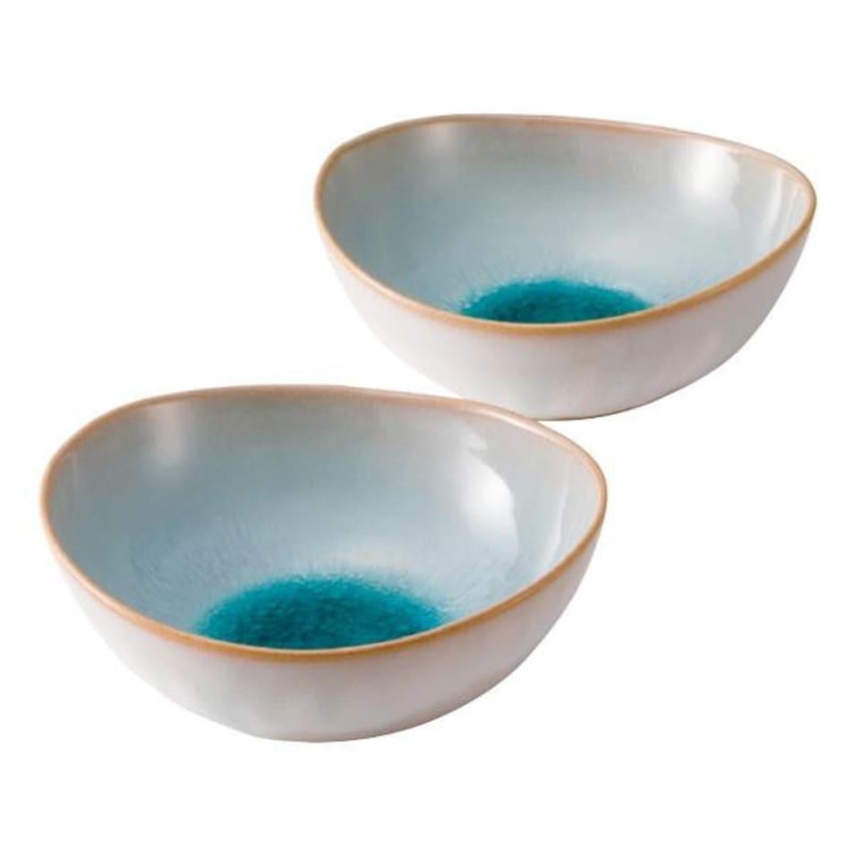 萩焼 ソライロ ペア鉢