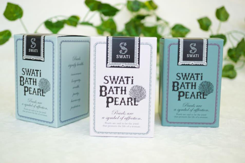 【swati】BATH PEARL & RaW Body Cream