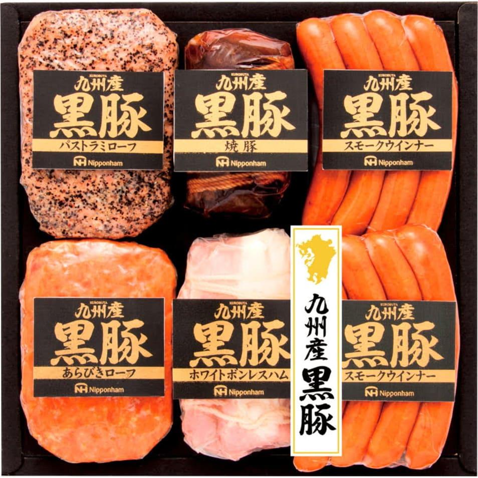 【南日本ハム】九州産黒豚6本詰ギフト