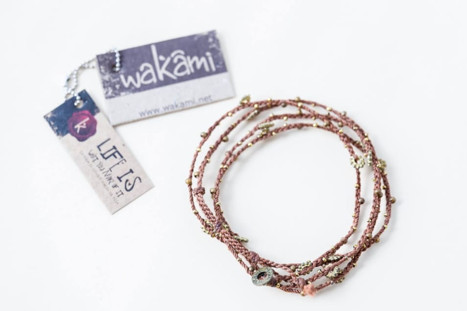 【Wakami】 Light Triple Wrap Bracelet