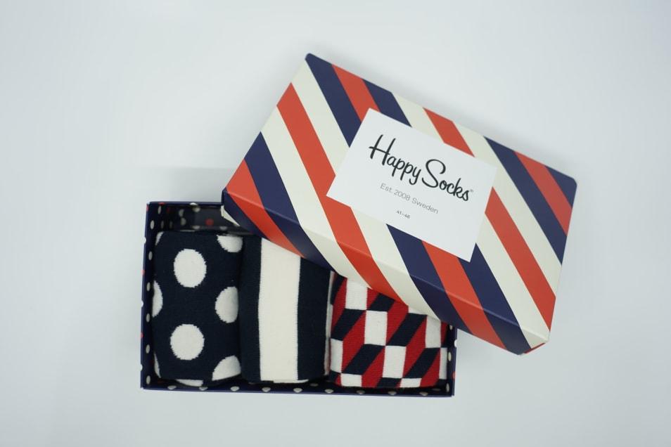 【Happy Socks】CLASSIC STRIPE GIFT BOX