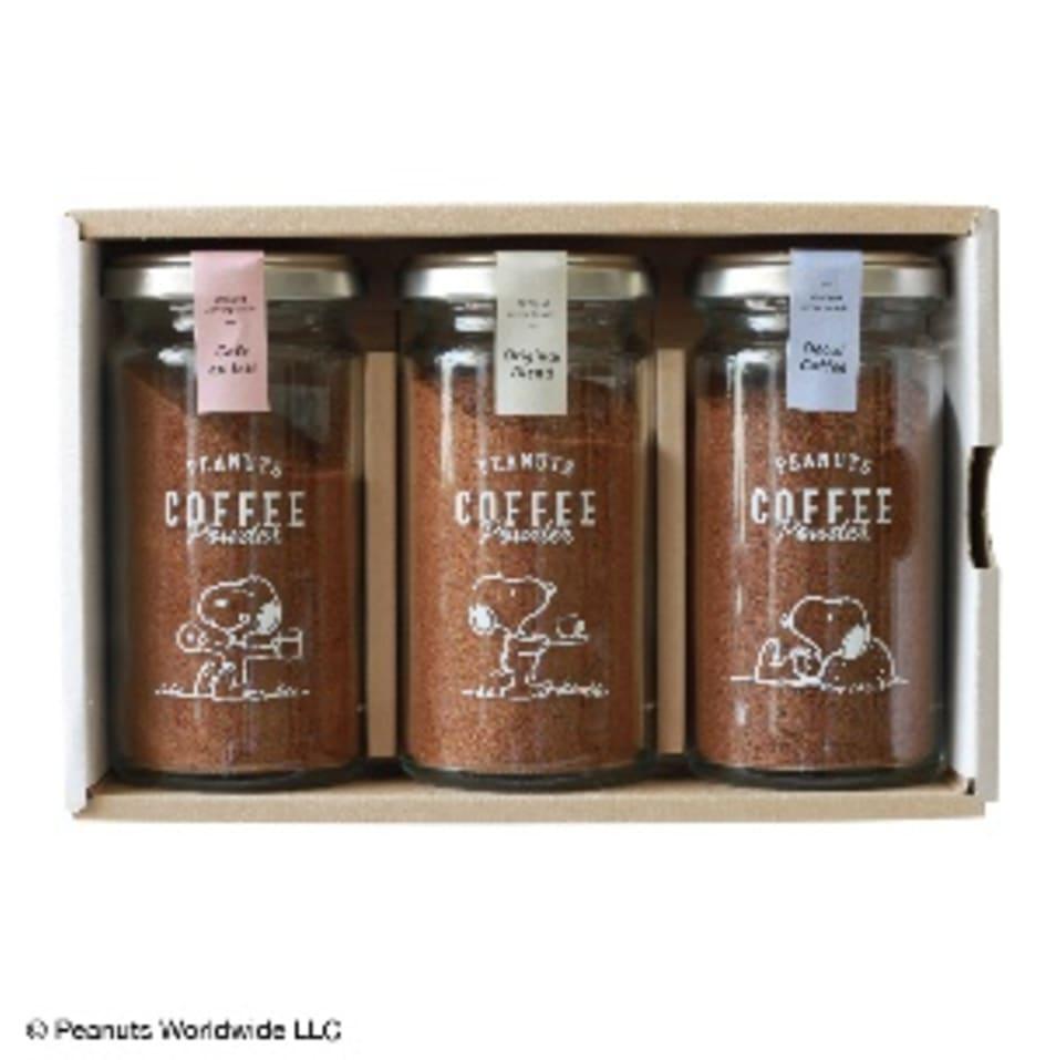 【INIC coffee】PEANUTS coffee ギフトセット オリジナル+カフェオレ+デカフェ