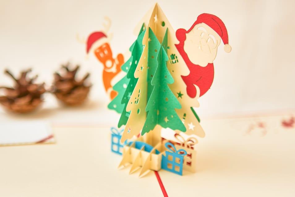 【WAO!POP】サンタとプレゼント