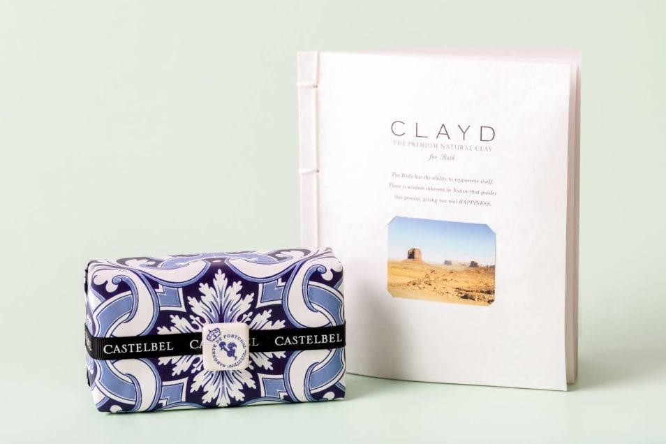 【リラックスセット】CASTELBELタイルソープ&CLAYD WEEKBOOKセット