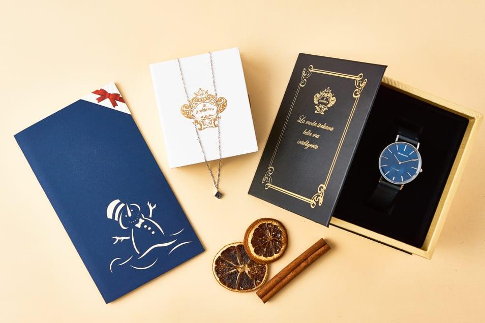 ギフトセット〝腕時計&ネックレス〟