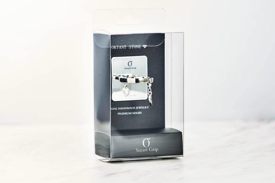 【SmartGrip】CH ring Silver Heart