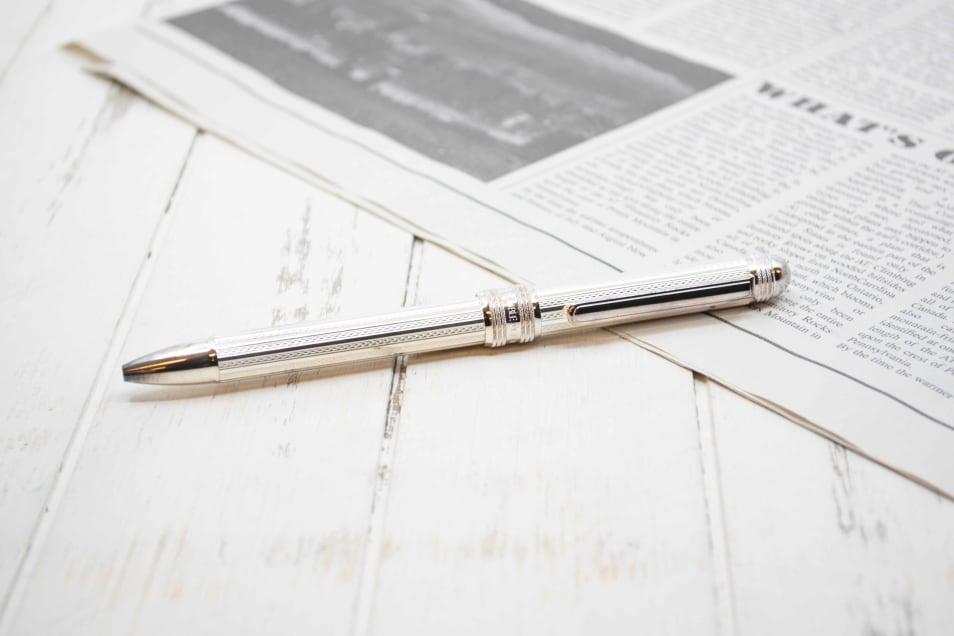 【プラチナ万年筆】多機能ペン ダブル3アクション スターリングシルバー