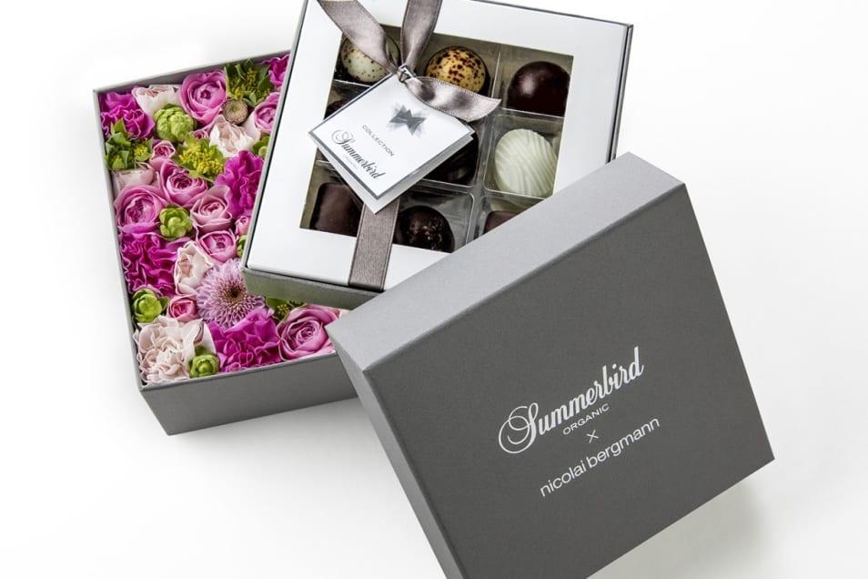 【Summerbird ORGANIC】チョコレート&フラワー限定ギフトボックス