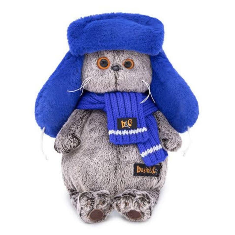 【BASIK】ブルーのもふもふロシア帽