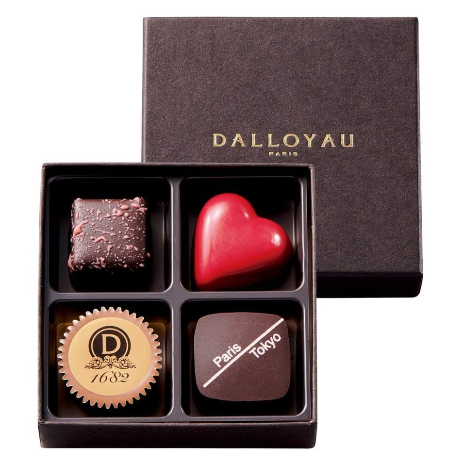 【DALLOYAU】コフレ ド ショコラ(4個入)