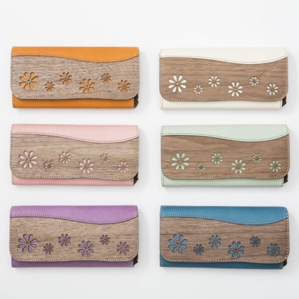 [Fleur] Long Wallet