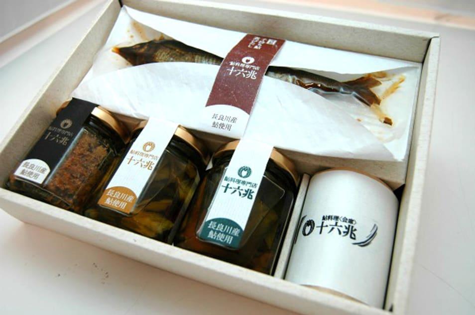 鮎料理専門店十六兆 鮎4種