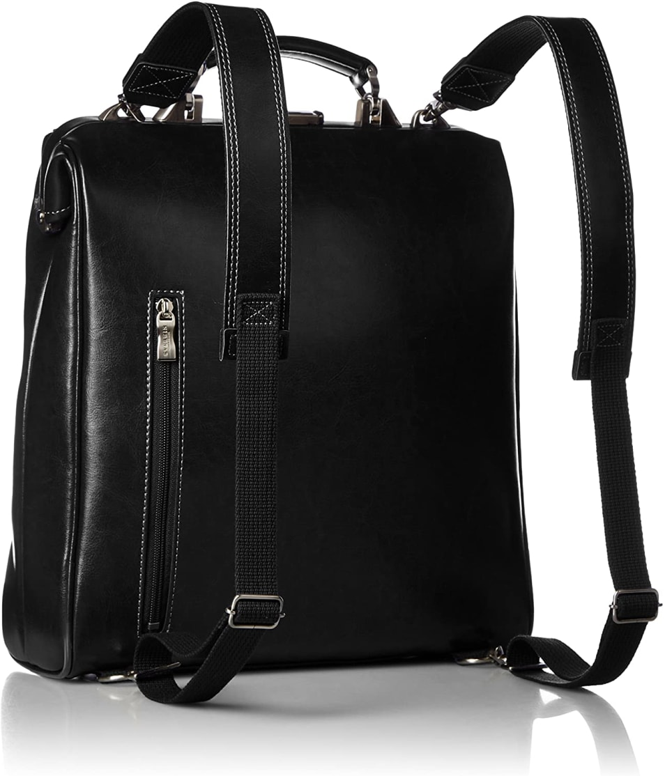 日本製 ダレスバッグ リュック 縦型 A4対応 21594