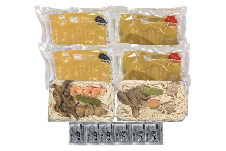 レンジで簡単稲庭(いなにわ)うどん(6食)